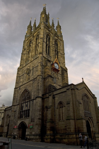 Newcastle Cathedral by Paul Harrop from Wikimedia Commons
